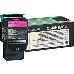 Toner Lexmark C540H1MG Magenta 2000 Pages