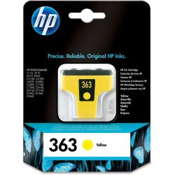 Cartouche Hp N°363 Jaune 500 Pages