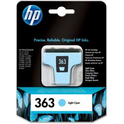 Cartouche Hp N°363 Cyan Claire 220 Pages
