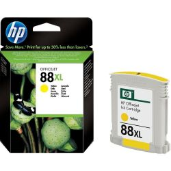 Cartouche Hp N°88 XL Jaune 1540 Pages