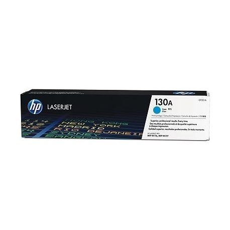 Toner Hp N°130A Cyan 1000 Pages
