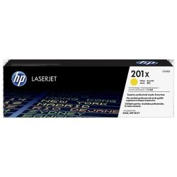 Toner Hp N°201X Jaune 2300 Pages