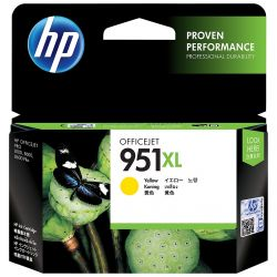 Cartouche Hp N°951 XL Jaune 1500 Pages
