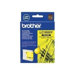 Cartouche Brother LC-1000 Jaune 400 Pages