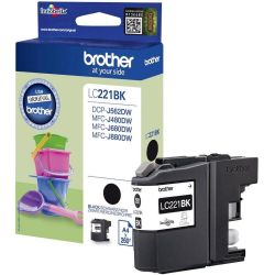 Cartouche Brother LC-221 Noire 260 Pages