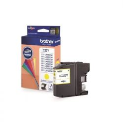 Cartouche Brother LC-223 Jaune 550 Pages