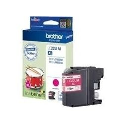 Cartouche Brother LC22U Magenta 1200 Pages
