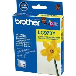 Cartouche Brother LC-970 Jaune 300 Pages