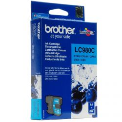 Cartouche Brother LC-980 Cyan 260 Pages