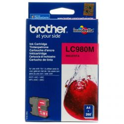 Cartouche Brother LC-980 Magenta 260 Pages