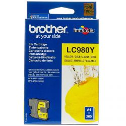 Cartouche Brother LC-980 Jaune 260 Pages