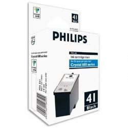 Cartouche Philips Crystal 680 Noire 500 Pages