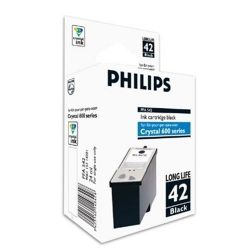 Cartouche Philips Crystal 650 Noire 950 Pages