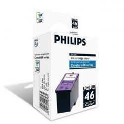 Cartouche Philips Crystal 665 Couleurs 1000 Pages