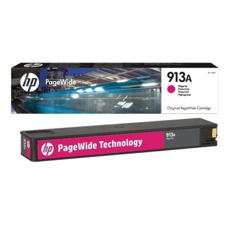 Cartouche Hp N°913A Magenta 3000 Pages