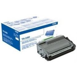 Toner Brother TN-3480 Noir 8000 Pages