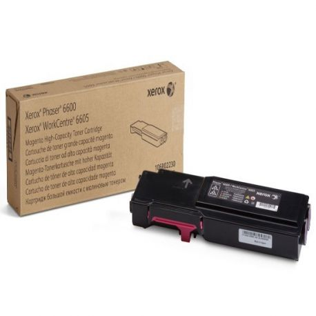 Toner Xerox 106R02230 Magenta 6000 Pages