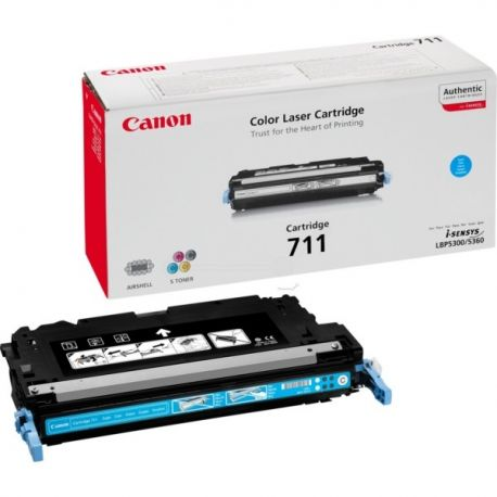 Toner Canon CRG-711 Cyan 6000 Pages