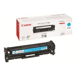 Toner Canon CRG-718 Cyan 2900 Pages