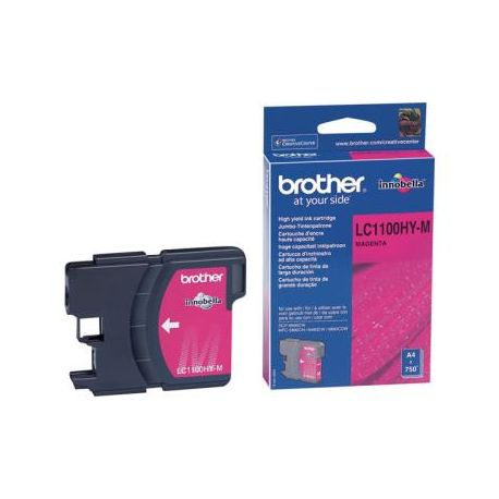 Cartouche Brother LC-1100 Magenta 750 Pages