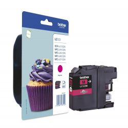 Cartouche Brother LC-123 Magenta 600 Pages