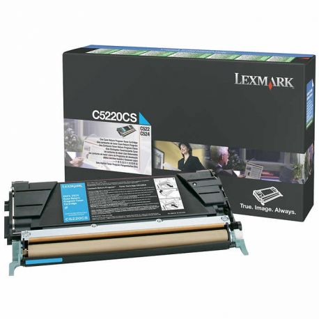 Toner Lexmark C5220CS Cyan 3000 Pages