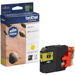 Cartouche Brother LC12E Jaune 1200 Pages