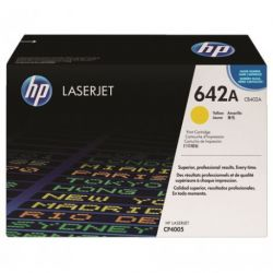 Toner Hp N°642A Jaune 7500 Pages