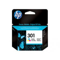 Cartouche Hp N°301 Couleurs 165 Pages