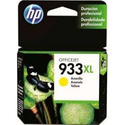 Cartouche Hp N°933 XL Jaune 825 Pages