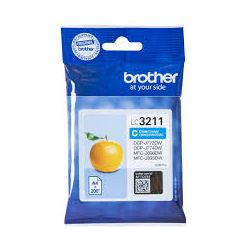 Cartouche Brother LC-3211 Cyan 200 Pages