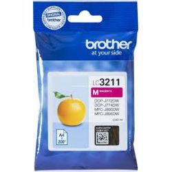 Cartouche Brother LC-3211 Magenta 200 Pages