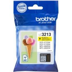 Cartouche Brother LC-3213 Jaune 400 Pages