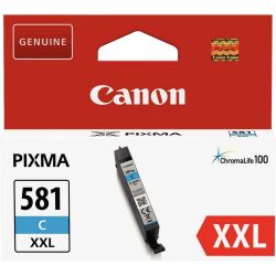 Cartouche Canon CLI-581 XXL Cyan 820 Pages