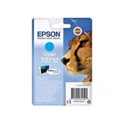 Cartouche Epson T0712 Cyan 345 Pages