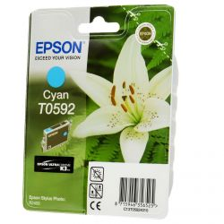 Cartouche Epson T0592 Stylus R2400 Cyan 640 Pages