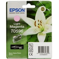 Cartouche Epson T0596N Stylus R2400 Magenta Claire 520 Pages