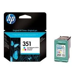 Cartouche Hp N°351 Couleurs 170 Pages