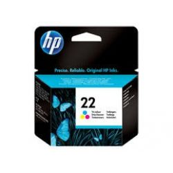 Cartouche Hp N°22 Couleurs 165 Pages