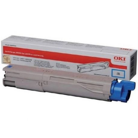 Toner Oki MC853 Cyan 7300 Pages