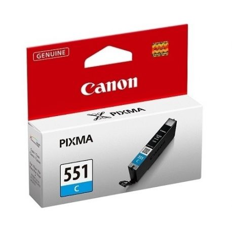 Cartouche Canon CLI-551 Cyan 332 Pages