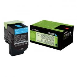 Toner Lexmark 80C2XC0 Cyan 4000 Pages