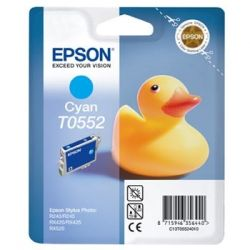 Cartouche Epson T0552 Stylus R240 Cyan 290 Pages