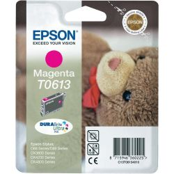 Cartouche Epson T0613 Stylus 3800 Magenta 250 Pages