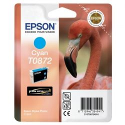 Cartouche Epson T0872 Stylus R1900 Cyan 650 Pages