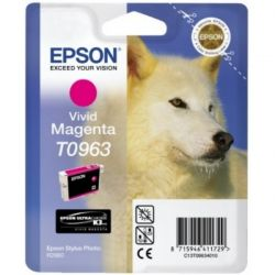 Cartouche Epson T0963 Stylus R2880 Magenta 865 Pages