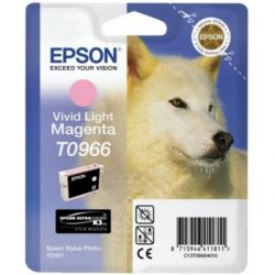 Cartouche Epson T0966 Magenta Claire 865 Pages