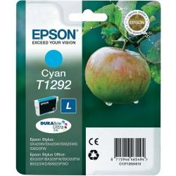 Cartouche Epson T1292 STYLUSBX305FW Cyan 460 Pages
